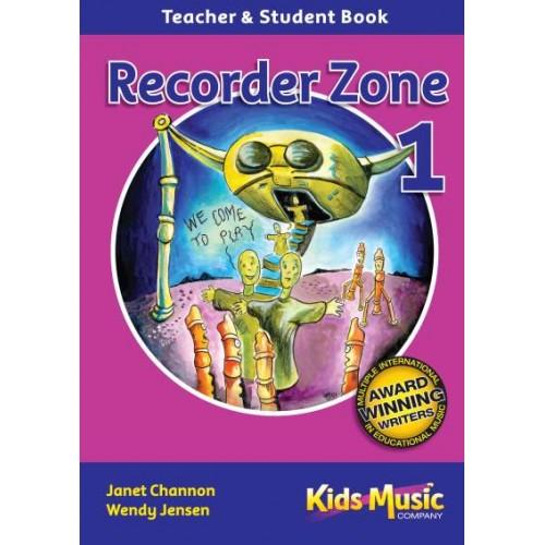 Recorder Zone 1 - BK & CD Set
