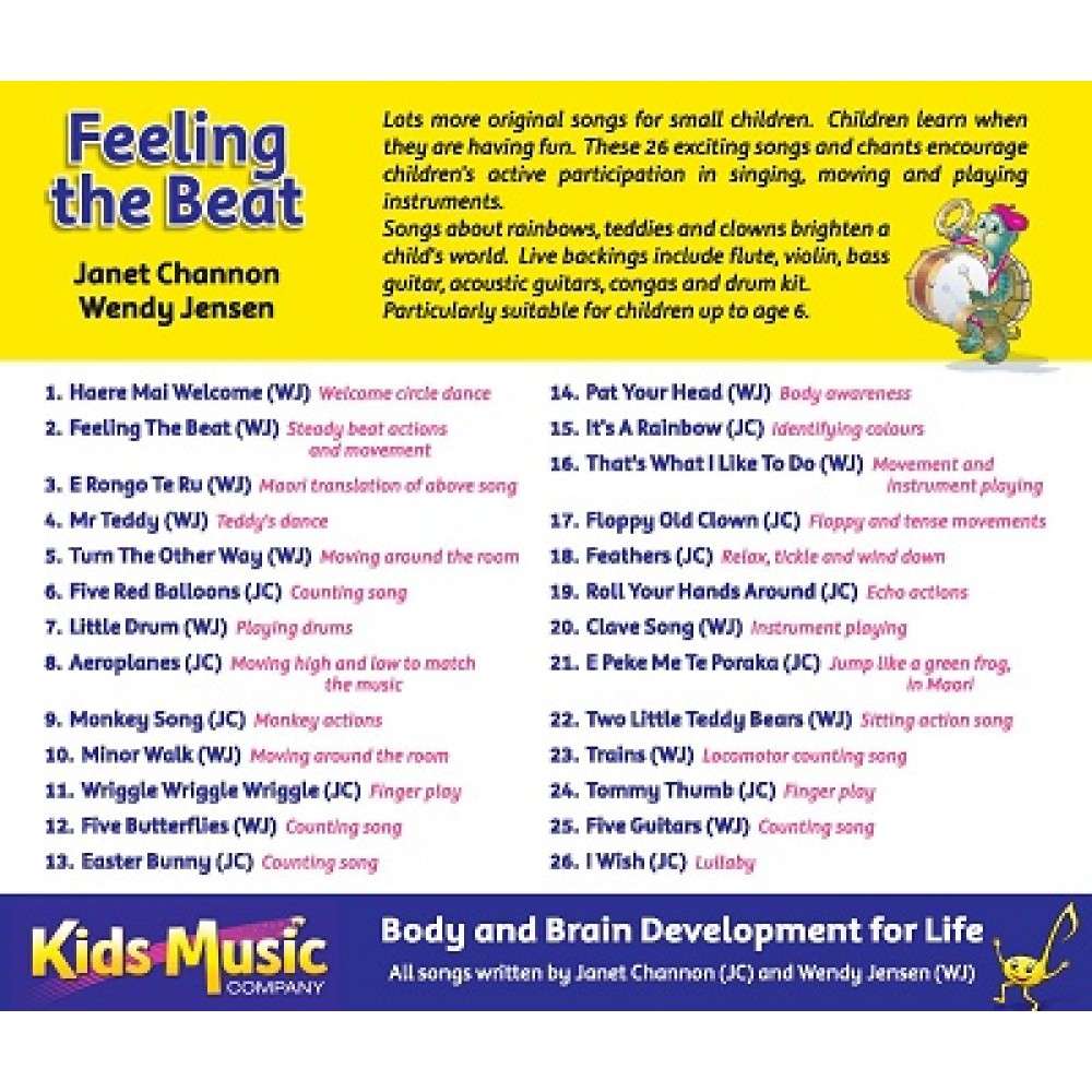 feeling the beat - cd
