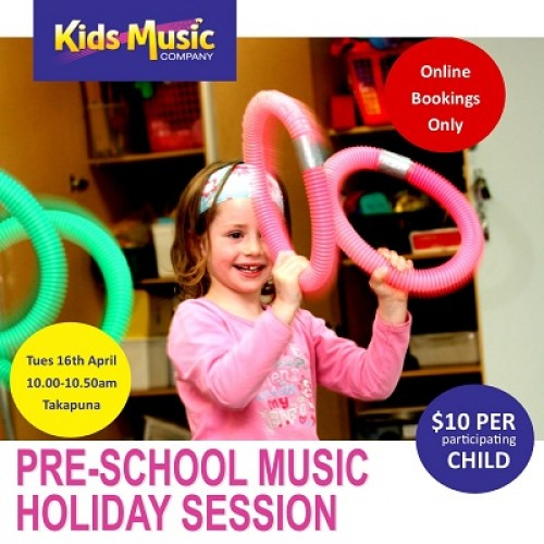 Pre-School Music Holiday Session