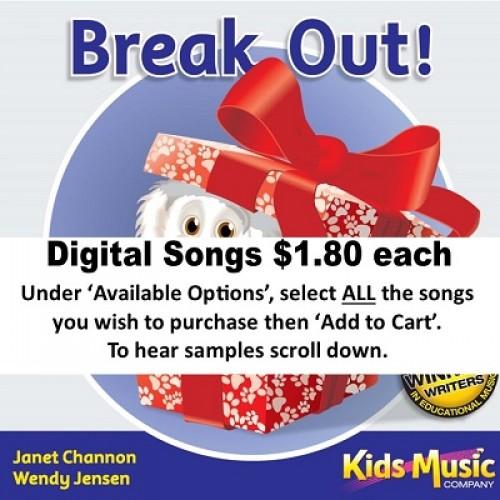 Break Out - Digital Songs