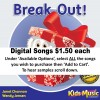 Break Out - Digital Songs