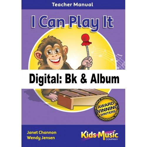 I Can Play It - Digital Bk & Album