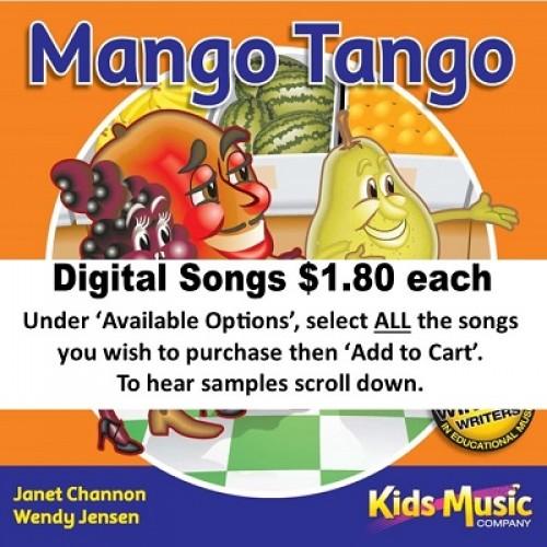 Mango Tango - Digital Songs