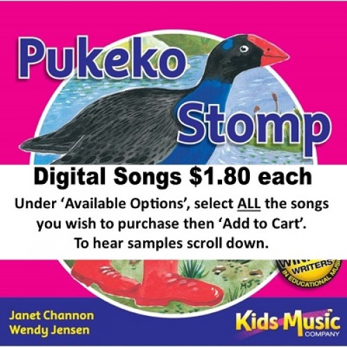Pukeko Stomp - Digital Songs