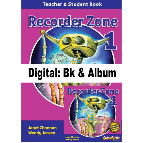 Recorder Zone 1 - Digital Bk & Album