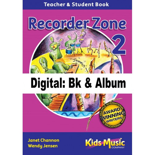 Recorder Zone 2 - Digital Bk & Album