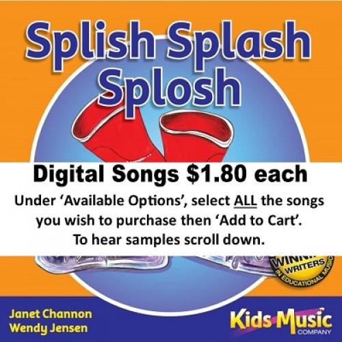Splish Splash Splosh - Digital Songs