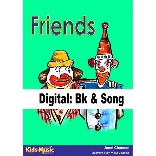 Friends - Digital Bk & Song