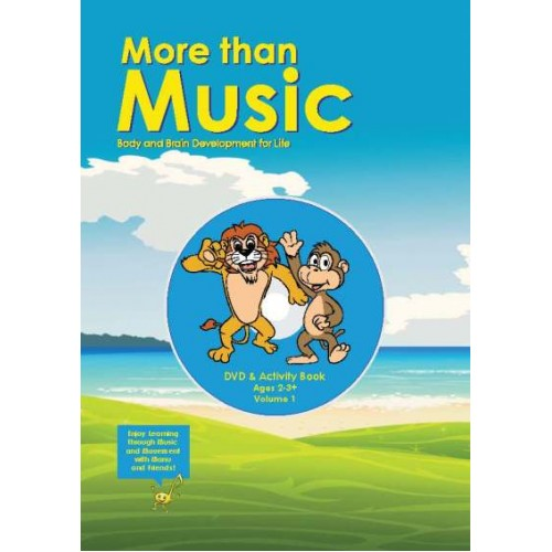 More Than Music - DVD & Activity Book