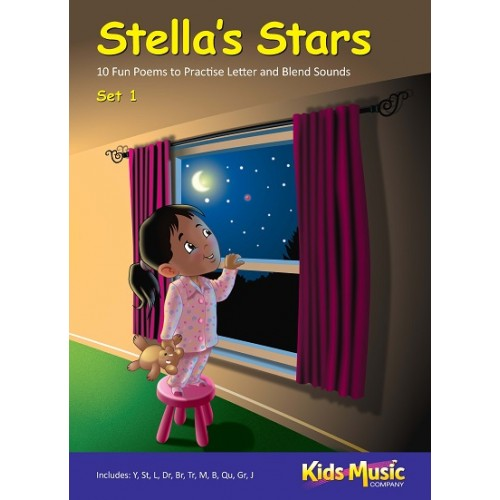 Stella's Stars - A4 Poem Set 1 - Teacher's Resource
